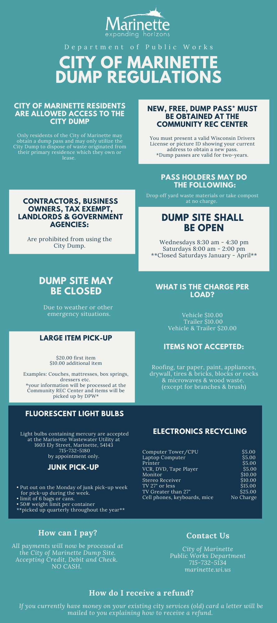 UPDATED DUMPSITE INFOGRAPHIC