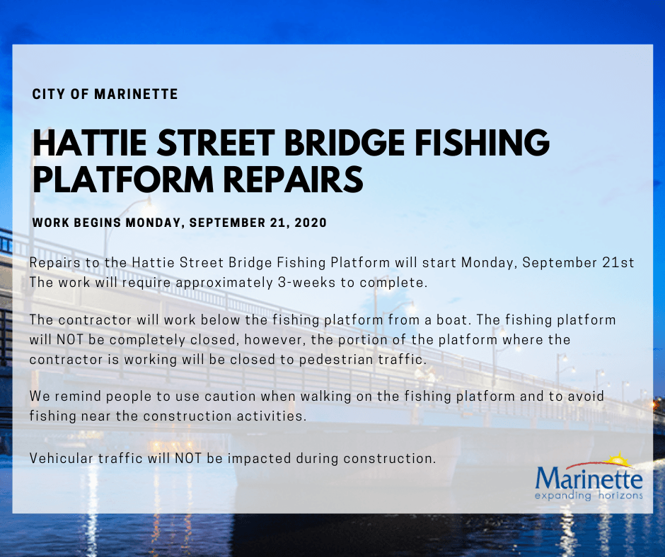 Hattie Street Bridge Fishing Platform Repairs