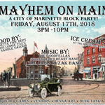 MAYHEM ON MAIN