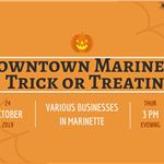 Downtown Marinette Trick or Treating